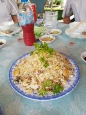 Just regular fried rice